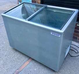 Congelador horizontal /botellero refrigercion ahorrador de energia