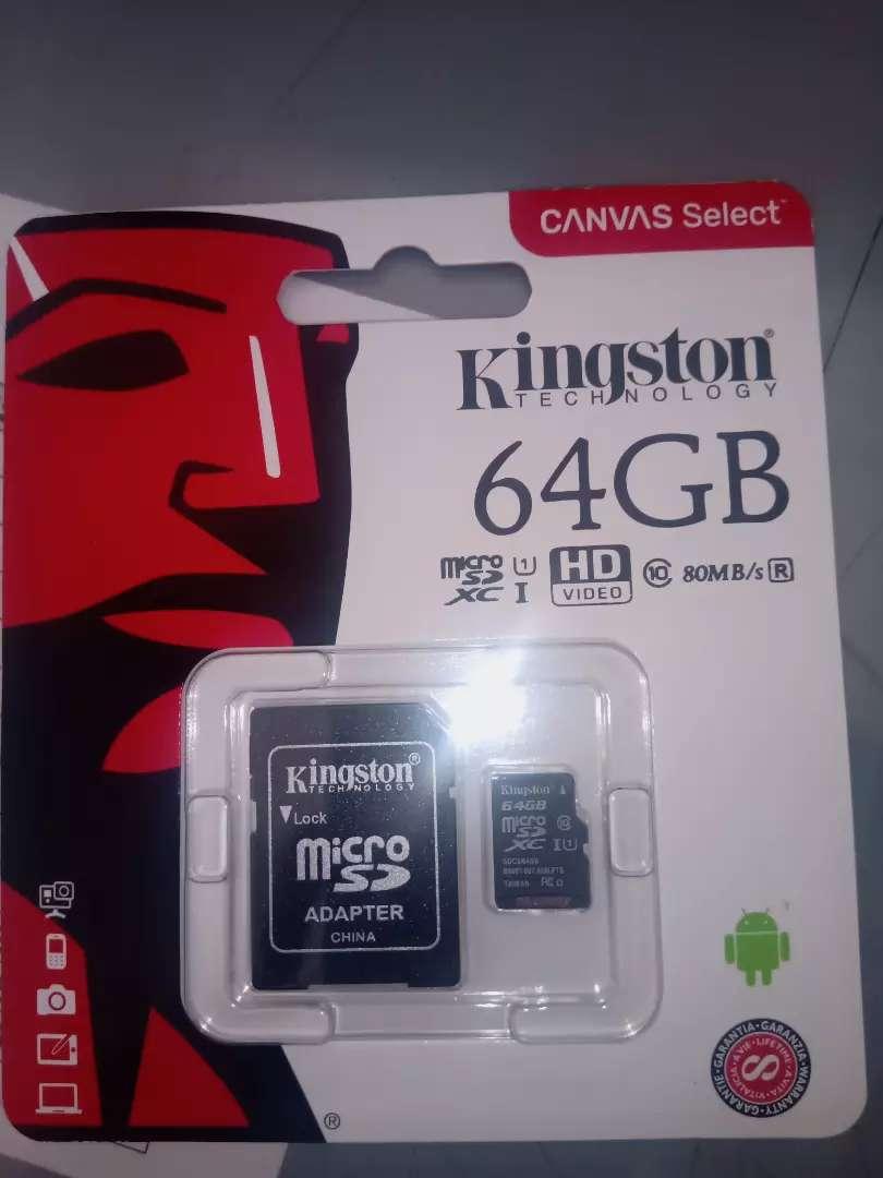 Memoria micro SD 64GB 0