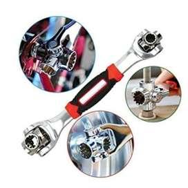 Gratis Envio Llave Inglesa Multiusos Wrench 48 En1 Universal Profesional