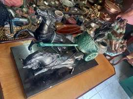 Carrosa en bronce