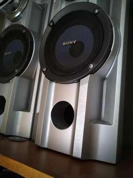 Fabuloso equipo de sonido Sony