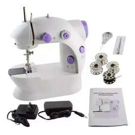 Maquina de coser portátil mini 4 en 1 eléctrica