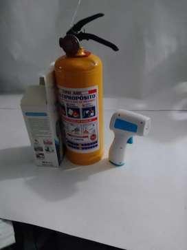 Extintor de 5 libras multipropósito más termómetro
