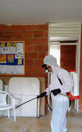 Fumigación - control de plagas