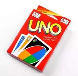 Juego de mesa de cartas uno para niños y adultos