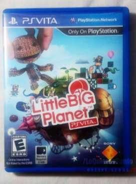 little big planet juego físico para ps vita