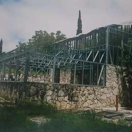 Construcción en seco, steel freming