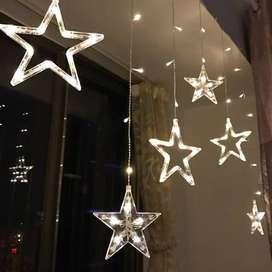 extension luces led x 3metros tipo estrella navidad ENVIO GRATIS
