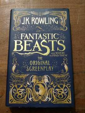 Fantasic Beasts and where to find them. The Original Screenplay