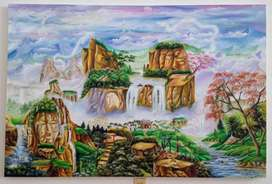 Cuadro Oleo  sobre lienzo, de artista original.