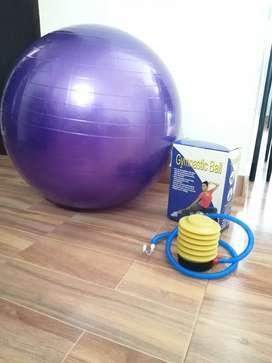 Balón de pilates + bonba inflable