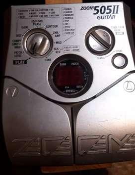Vendo pedalera guitarra zoom 505 II