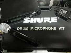 Micrófono Inhalambrico Shure Gama Alta