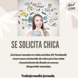 Administradora redes sociales