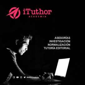 Tutoria y Asesoria en Tesis, Monografias, Artículos, Ensayos y trabajos universitarios en general.