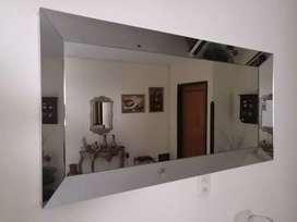 Vendo espejo en cristal