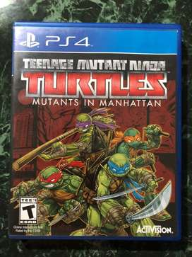 Turtles in manhattan playstation 4 ps4 // ps3 3ds wii xbox