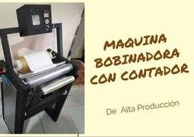 BOBINADORA DE PAPEL OSMOTICO