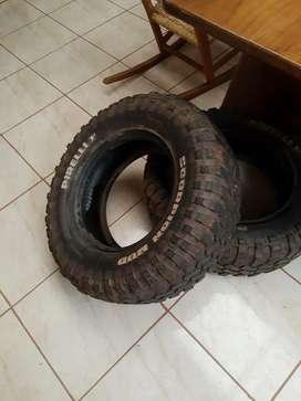 Cubiertas Pirelli Scorpion mud 255/70 r16