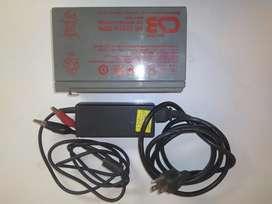 Vendo batería de 12v 9ah 34w