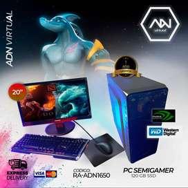PC DE ESCRITORIO GAMER ++