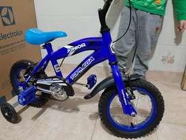 Bicicleta top mega junior