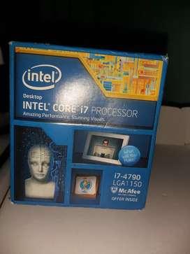 i7 4790 y memorias ram Corsair DDR3 2400mhz