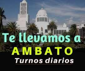 Transporte puerta a puerta Quito Ambato  recorridos diarios