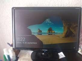 Espectacular pantalla monitor de 22
