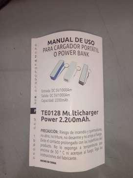 Batería recargable para celular