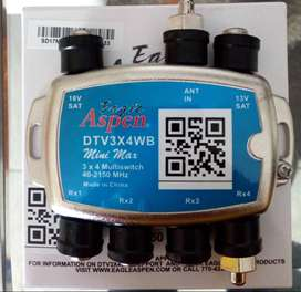 MULTISWITCH DIRECTV para conexión de mas de 2 decodificadores