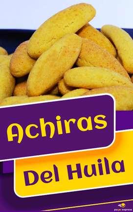 Deliciosos bizcochos de Achira