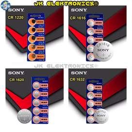 Batería Sony Original 3V CR 1220, 1616, 1620, 1632