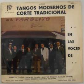 TANGOS MODERNOS DE CORTE TRADICIONAL