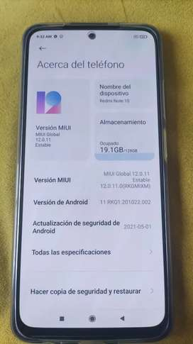 Xiaomi redmi note 10 flamante