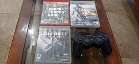 Juegos de PS3 y palanca