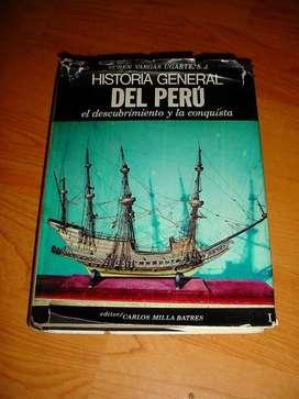 Historia General del Perú por Rubén Vargas Ugarte