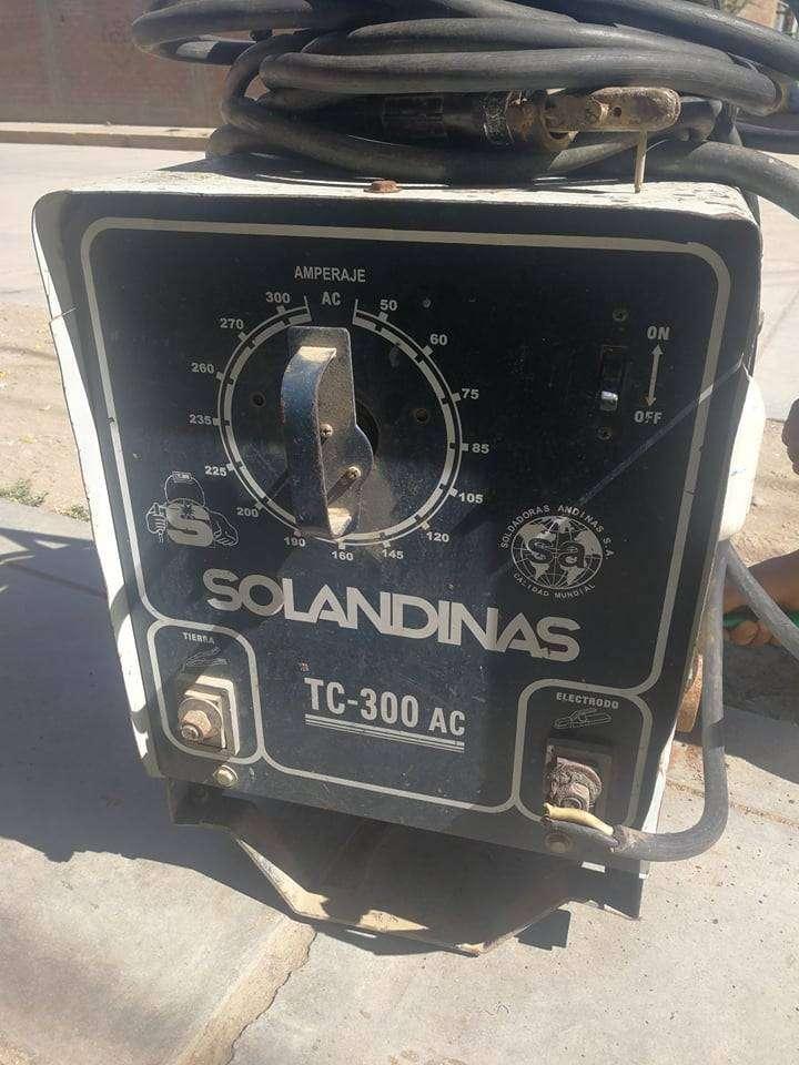 Maquina DE SOLDAR Solandina Modelo Tc-300 Ac 0