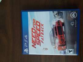 Vendo Video Juego Need For Speed Payback PS4