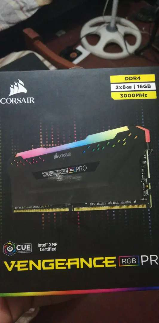 Kit 16Gb RAM 3000Mhz Corsair RGB 0