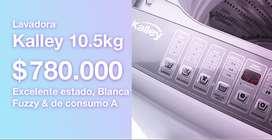 Lavadora Kalley 10Kg $780mil como nueva