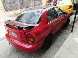 Vendo Auto Daewoo Lanos 2001 f
