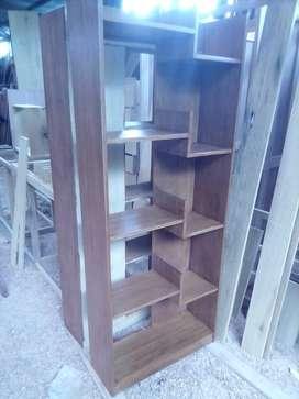 Libreros de madera