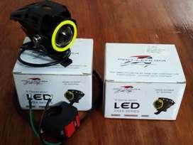 Faros cree LED u7 - ojos de angel - moto auto camioneta