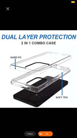 2021 case iphone carcasa  POR MAYOR transparente dura hibrida  TPU + PC la mas nueva doble capa .