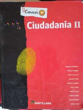 Ciudadanía 2 Santillana