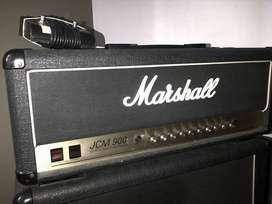 Vendo cabezal Marshall Dual Reverb Ingles
