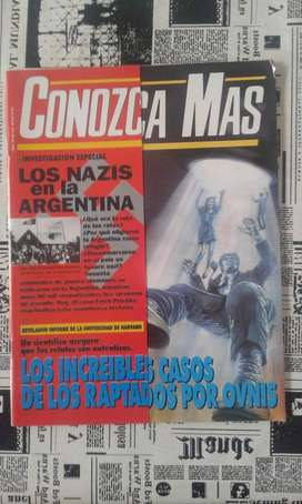 Revista Conozca Mas Año 1994 N69 Los Nazis En La Argentina