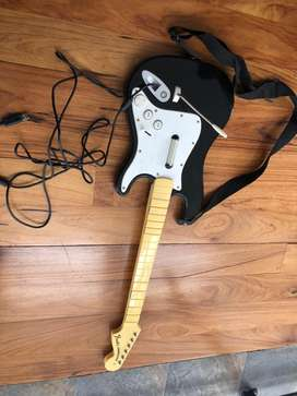 Vendo guitarra xbox