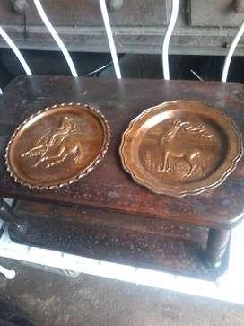 Vendo 2 platos de cobre a 2000 pesos